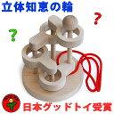【名入れ可】●立体知恵の輪(4段)日本グッド・トイ選定玩具 ...