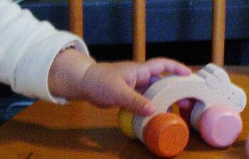 うさぎアーチ(がんばれ子育て応援おもちゃ!木のおもちゃ知育玩具銀河工房おしゃぶりガラガラ赤ちゃんベビー積木ブロック子供遊具こどもつみき