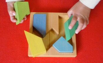 M字パズル木のおもちゃ銀河工房出産祝い赤ちゃんおもちゃおしゃぶりガラガラ歯がためベビー0才、1才、2才3才、0歳、1歳、2歳3歳バリアフリー