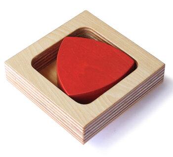 ルーローの三角形木のおもちゃ知育玩具銀河工房積木ブロック子供遊具こどもつみき