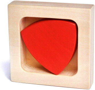 REULEAUX TRIANGLE Wooden Toys (Ginga Kobo Toys) Japan