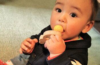 木のおもちゃ出産祝い名入れギフト日本製おしゃぶり赤ちゃんおもちゃ銀河工房人形