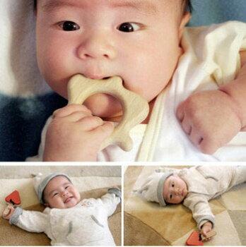 出産祝いプチセット(ドド)送料無料木のおもちゃ知育玩具赤ちゃんおもちゃラトル歯がためおしゃぶりガラガラはがため0才1才2才男の子&女の子