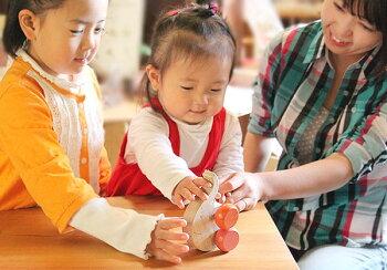 はなたれ子象木のおもちゃ知育玩具銀河工房積木ブロック子供遊具こどもつみき