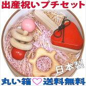 【名入れ可】●出産祝いプチセット(ド★ド)赤ちゃん おもちゃ ギフト はがため 歯がため 木のおもちゃ 日本製 カタカタ 歯固め おしゃぶり がらがら ラトル 男の子&女の子 3ヶ月 4ヶ月 5ヶ月 6ヶ月7ヶ月 8ヶ月 9ヶ月 10ヶ月 1歳 2歳 積み木 誕生日 押し車 親子 木育 家族