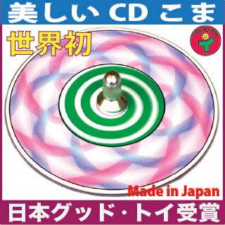 Spiral Top Wooden Toys (Ginga Kobo Toys) Japan