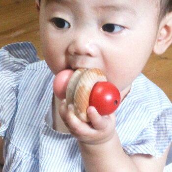 ぺろりん木のおもちゃ出産祝い名入れギフト日本製おしゃぶり赤ちゃんおもちゃ銀河工房人形