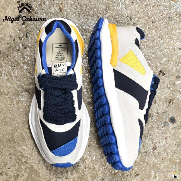 メンズ靴, スニーカー  20FW 8041-39-62020 NIGEL CABOURN Maison MIHARA YASUHIRO FRENCH SNEAKER Melting