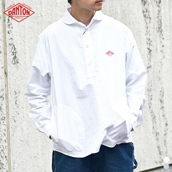 DANTON【ダントン】JD-3568 YOX 長袖プルオーバーシャツ