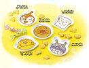 アンパンマン【ANPANMAN】お子様食器顔型小皿セット432750