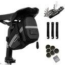 自転車バッグ サドルバッグ ツールセット 自転車用ツール 多機能携帯ツール 工具セット 16-in-