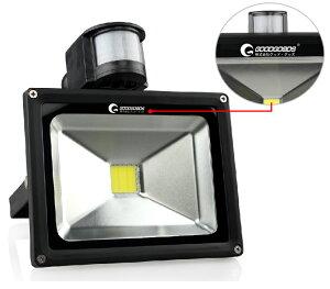 センサーライト人感センサー搭載投光器50W500W相当5500LMLED投光器スタンドLEDライト
