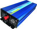 パワーインバーター 大出力2000W[回路保護/入力低電圧警報音/低電圧遮断/過温度遮断/過負荷遮...