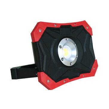 LED投光器 充電式 30w 3600lmポータブル投光器 小型 ledライト 明るい 頑丈 強力マグネット付き キャンプ 持ち運び アウトドア コードレス投光器 現場工事 スマホ充電対応 防水 電気設備 道路整理 看板照明 ランタン(YC-N8X)