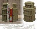 【送料無料(一部地域除く)】ブックスタンド 本立て ブックエンド 幅100 奥行き100 高さ280mm アンティーク カントリー 家具 雑貨 おしゃれ 卓上スタンド 机上 仕切り 木製