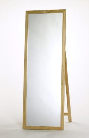 木製ジャンボミラー(MS-120NAナチュラル)※...