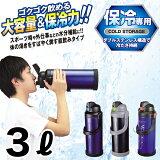 ダブルステンレス構造 チャージャー 大容量ダブルステンレススポーツジャグ 3000mlサイズ 3.0L (直飲み 保冷専用 水筒) 【RCP】【HB-0230 HB-0229】