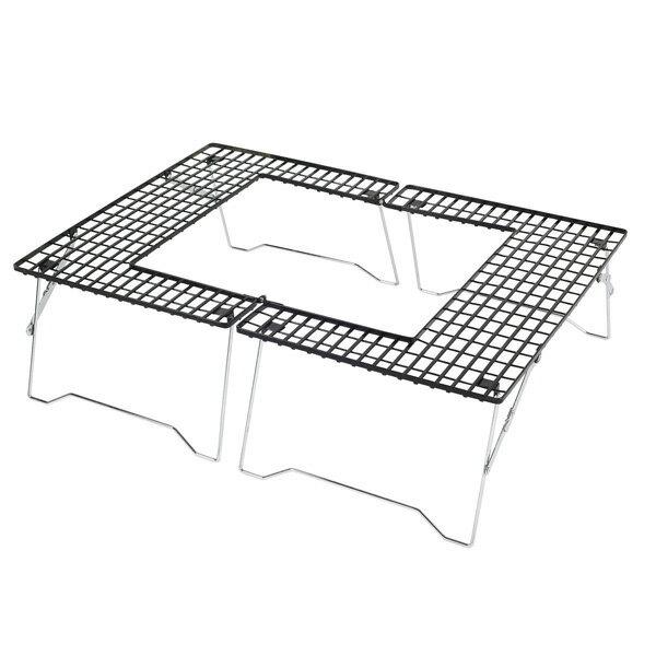 キャプテンスタッグ ファイアグリル テーブル