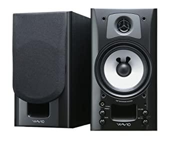 【中古】ONKYO WAVIO アンプ内蔵スピーカー 15W+15W ブラック GX-70HD(B)