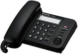 【中古】パナソニック 電話機 親機のみ ブラック VE-F04-K