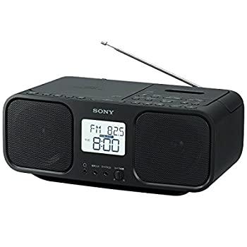 【中古】ソニー SONY CDラジオカセットレコーダー CFD-S401 : FM/AM/ワイドFM対応 大型液晶/カラオケ機能搭載 電池駆動可能 ブラック CFD-S401 B
