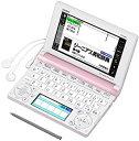 【中古】CASIO Ex-word 電子辞書 高校生学習モデル XD-B4800 ピンク XD-B4800PK