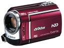 【中古】JVCケンウッド ビクター ハードディスクビデオカメラ Everio エブリオ ルージュレッド GZ-MG330-R