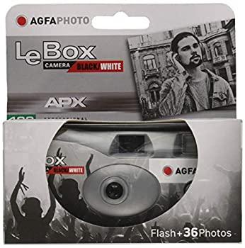 カメラ・ビデオカメラ・光学機器, その他 Agfaphoto LEBOX BlackWhite APX400 36 Exposure AFPLBW36