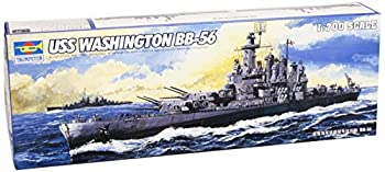プラモデル・模型, その他 Trumpeter 1700 USS Washington BB56 Battleship Model Kit TSM-5735