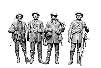 プラモデル・模型, その他 Masterbox 135 British Infantry, Battle of the Somme, 1916 35146