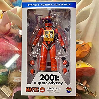 【中古】2001年宇宙の旅 アクションフィギュア MAFEX SPACE SUIT ORANGE Ver. 宇宙飛行士 アストロノーツ スタンリーキューブリック メディコムトイ画像