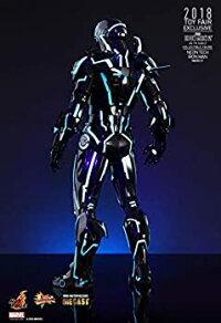 【中古】ムービー?マスターピースDIECASTアイアンマン21/6アイアンマン?マーク4ネオンテック版