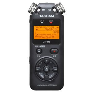 楽器・音響機器, その他 TASCAM PCM DR-05VER2-JJ
