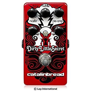 楽器・音響機器, その他 Catalinbread Dirty Little Secret Red