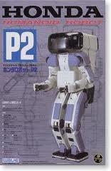 【中古】WAVE スケールロボット 1/12 ホンダ・ヒューマノイドロボット P2 SR01