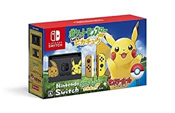 【中古】Nintendo Switch ポケットモンスター Let's Go! ピカチュウセット (モンスターボール Plus付き)
