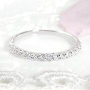 ダイヤモンド エタニティリング プラチナ ホワイト レディース プレゼント