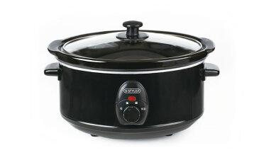 訳あり スロークッカー 3.5L 電気なべ 煮込み 料理 大容量 パーティーお祝い アウトレット レシピ カレー 角煮 小豆 おでん シチュー