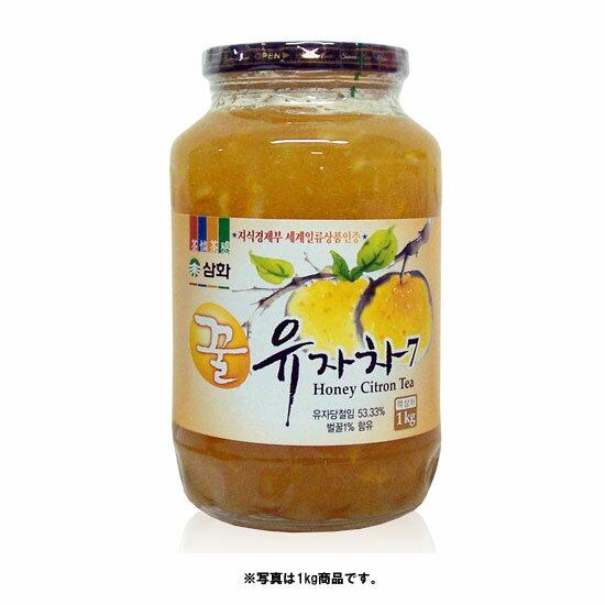 *韓国食品*蜂蜜入りで甘さアップ!三和 蜂蜜 柚子茶(瓶) 1kg★