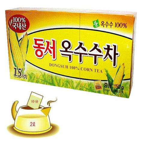 *韓国食品*トウモロコシの香を楽しめながらどうぞ!東西 コーン茶(10gx15個入)★goodmall★【ラッキーシール対応】