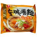 *韓国食品*マイルドな味わい!濃心・安城湯麺!1BOX40個入り(5621)、ケース売り