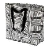 ★DM便★FISSLA フィスラキャリーバッグ M(黒)、ショッピングバッグ