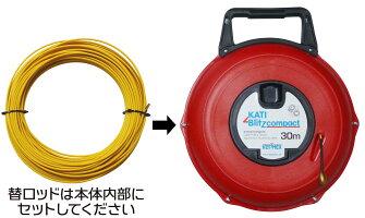 カティメックスコンパクト呼び線30M赤ケース用