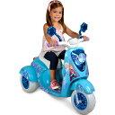 【送料無料】ディズニー Frozen 『アナと雪の女王』エルサ 映画 電動スクーター 乗り物 おもちゃ バイク  海外直輸入
