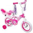 Huffy Disney プリンセス 女の子用 12インチ ディズニープリンセス 人形シート付