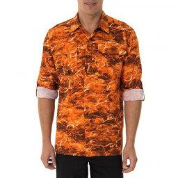 Mossy Oak Fishing メンズ用 Performance Guide Shirt 3XL Sunset サバゲー カモフラージュ ウエア【送料無料】【代引不可】【あす楽不可】