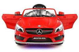 Mercedes-Benz 2018 Licensed Mercedes AMG 12V Battery Ride on Toy Car w/ LED Lights Mp3 Openable Doors メルセデス・ベンツ 電動自動車  【送料無料】【代引不可】【あす楽不可】