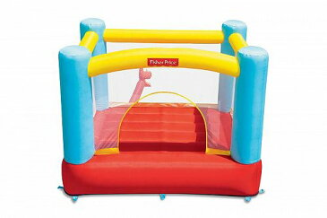 Fisher-Price フィッシャープライス Fisher Price Bouncetacular Inflatable Bounce House 大型遊具 バウンス ハウス トランポリン 【送料無料】【代引不可】【あす楽不可】