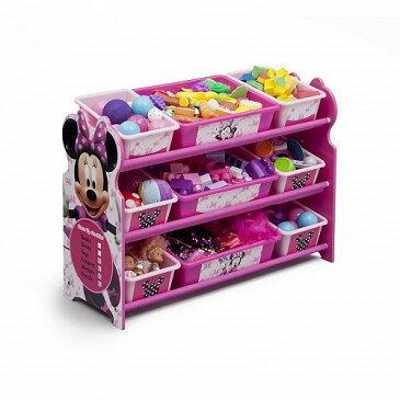 Disney ディズニー ミニーマウス Toy Organizer Minnie Mouse おもちゃ箱【送料無料】【代引不可】【あす楽不可】