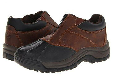 Propét プロペット メンズ 男性用 シューズ 靴 ブーツ レインブーツ Propét プロペット Blizzard Ankle Zip - Brown/Black